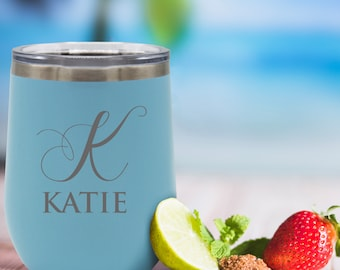 Stemless Wine Tumbler, Custom Insulated Tumbler, Bachelorette Party Favors, Sippy Cup Adult, Girls Trip, Reunion Favor, Honeymoon Gifts