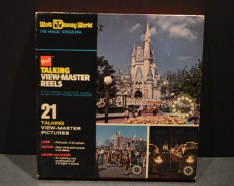 1970's GAF Talking View Master Reels-Walt Disney World The Magic Kingdom #955