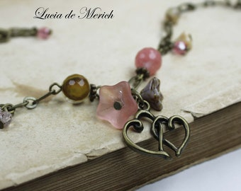 Romantic Gift - Love bracelet-  Heart bracelet - Valentine's gift  - Coupon code.