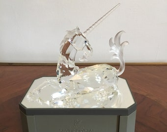 Swarovski Crystal Unicorn Figure