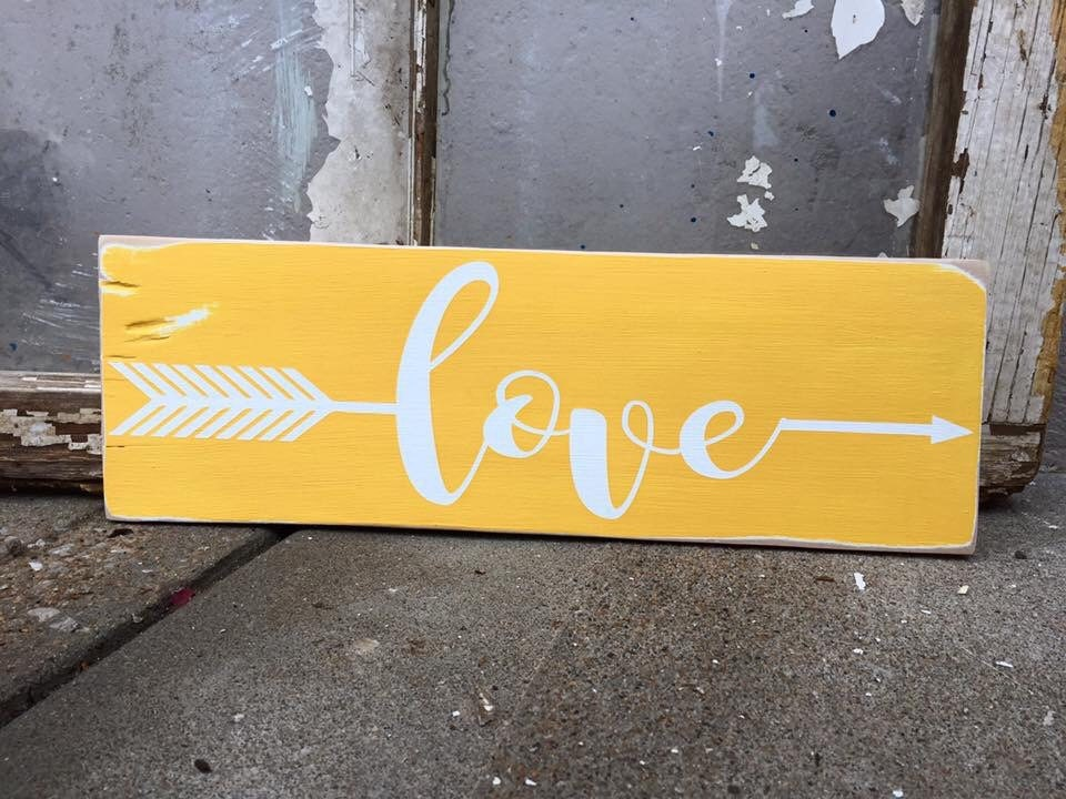 love arrow rustic sign rustic decor tribal arrow gallery