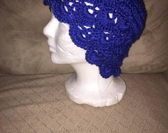 Light and Lacy Crochet Beanie Cap