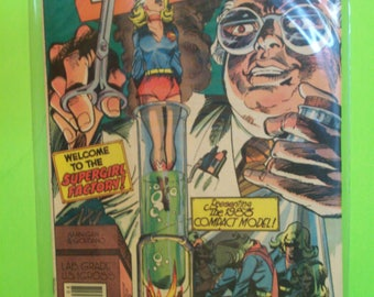 Supergirl New Adventures #10 (2nd-Series) The Supergirl Factory  , Lois Lane Backup Story VG-VF Vintage Comic Book 1983 DC Comics