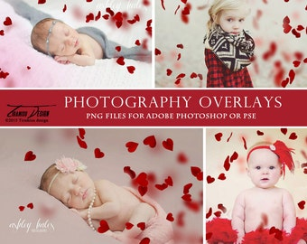 Photography Valentine's Day Heart Overlays, Heart Photo Overlays, INSTANT DOWNLOAD