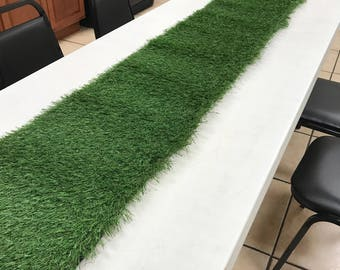 1 ft X 12 ft Synthetic Grass Table Runner