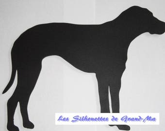 Hunting dog, wooden wall decor