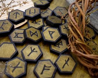 Elder Futhark, Runes + blank rune