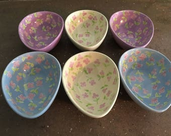 Rare HausenWare egg shaped bowls