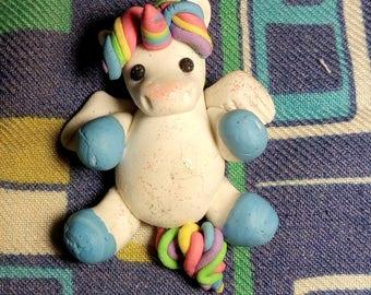 Rainbow Unicorn Lying