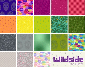 Wildside - Fat Eighth Bundle by Libs Elliott - Full Collection - 19 prints