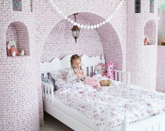 Twin Bedding Girl, Twin Bedding, Bedding Set, Duvet Cover, Kids Bedding, Twin Duvet Cover, Twin Bedding Set, Toddler Duvet Cover, Twin Duvet