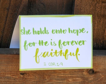 Spring & Summer Fun Collection: 'She holds onto hope...'