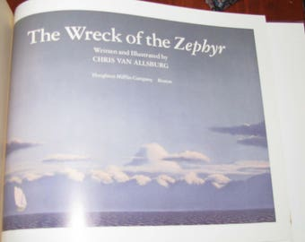 Illutrated book: The Wreck of the Zephyr