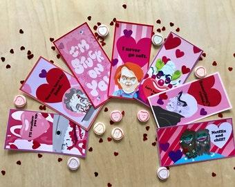 Corny & Horny Horror Valentines Cards