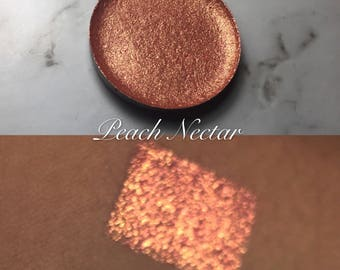 Peach nectar single pan eyeshadow
