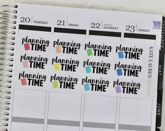 Planning Time Planner Stickers, Planning Time Stickers, Planning Stickers, Planning Planner Stickers