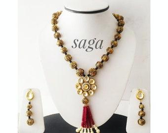 Kundan Jadau Set, Indian Jewellery, Fashion Jewellery, Wedding Jewellery