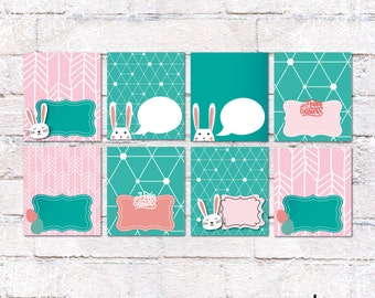 Easter Food Tent Cards. Easter Brunch Place Cards. Party Supplies. Package 3 with 8 cards. *INSTANT DOWNLOAD*