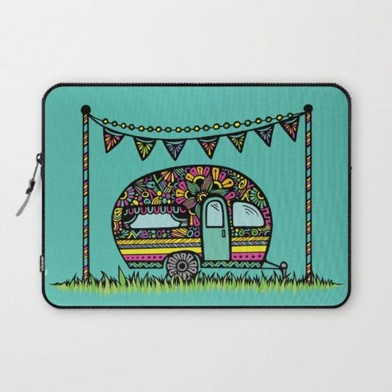 Little Camper Laptop Sleeve