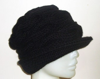 Women's Hats Trendy Womens Hats Winter Black Hat Woman Gift for Women, Gifts for Her