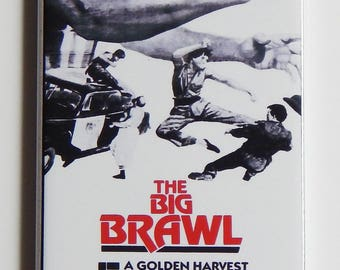 The Big Brawl Movie Poster Fridge Magnet (1.5 x 4.5 inches)