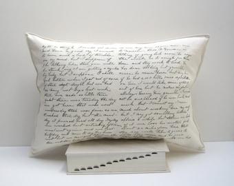 alf letter pillow