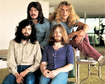 Led Zeppelin taken in 1970