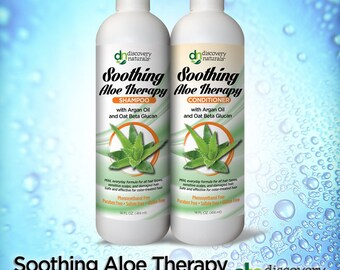 Soothing Aloe Therapy Natural & Organic Combo Pack