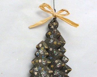 Christmas tree ornament 3 dimensional