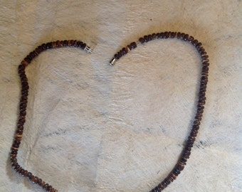 Small Coconut Beads Necklace
