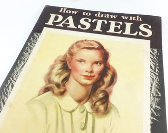 Walter Foster Art Book How to Draw with Pastels
