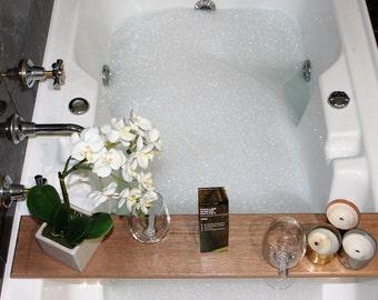 Bath Caddy - Bathroom - Bath Tray - Bath Accessories - Bathroom Storage - Australia - Bathroom Decor - Bathtub Caddy - Housewarming Gift
