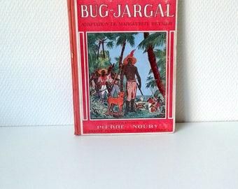 French book, Victor Hugo illustrated French vintage novel, Bug-Jargal, victor hugo book,