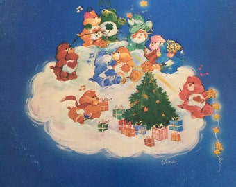 Vintage Care Bear Christmas Album