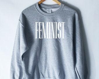 Feminist Sweatshirt for Women - Feminism Shirt - Feminism Definition Sweatshirt - Feminism T-Shirt - Women's Shirt