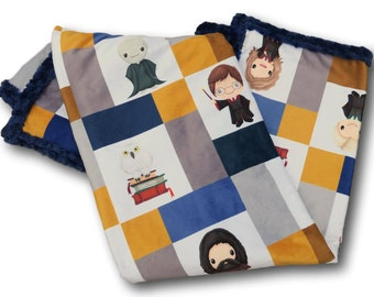 Harry Potter Baby * Personalized Baby Blanket * Harry Potter Baby Quilt * Harry Potter Quilt * Harry Potter Bedding * Ravenclaw