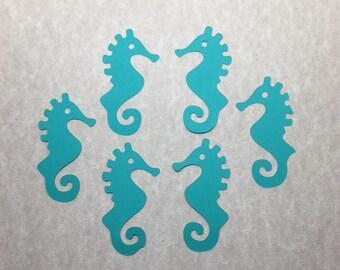 30 Cardstock Die Cut Sea Horse