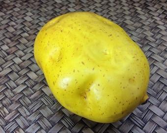 Potato Yellow Fruit Artificial Lifelike Simulation Faux Fake Fruit Potatoes Fake Vegetable