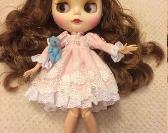 Blythe with outfit