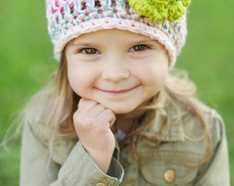 Fall Fashion Accessories - Girls Hair Accessories - Pink Girls Hat