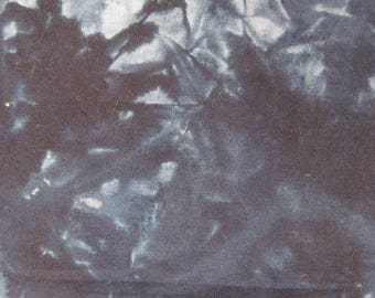 Batik navy blue fat quarter