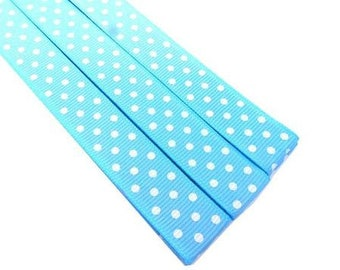 Pattern Magnet - Chart Keeper Magnetic Bookmark - Polka Dots (Light Blue)