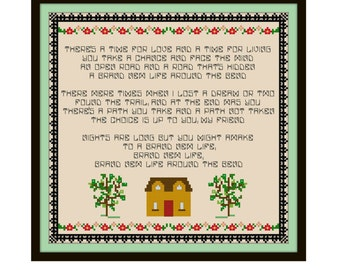 Who's The Boss Cross Stitch Pattern - Cross Stitch Sampler - Funny Cross Stitch
