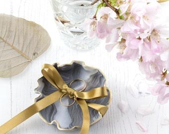 Ring Pillow Alternative, Keepsake Marble Ring Dish, Wedding Ring Dish, Jewelry Dish, Jewellery Dis, Ring Holder