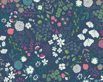 Art Gallery - Flower Child Collection - Blooming Ground in Luscious