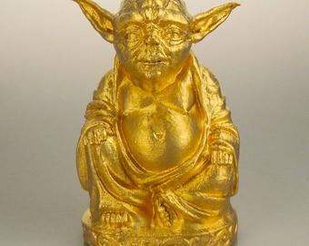 Star Wars - Yoda Buddha (Brilliant Gold)
