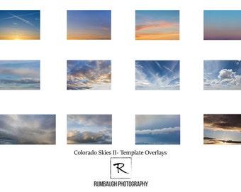 Sky overlay, Cloud overlay, Digital cloud template overlay