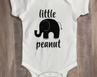 Little Peanut Elephant Baby Onesie, Gift