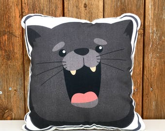 Charlie the Soft, Comfortable, huggable Cat Pillow (1)