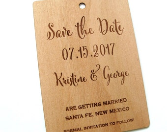 Save the Date card, Rustic Save the date, Wooden Save the Date, Save our Date, Rustic Wedding, Rustic Decor, Fancy Save the Date